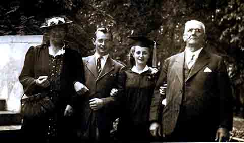 Wagner, Dorothy, Fred, Alida and Martin Hauger