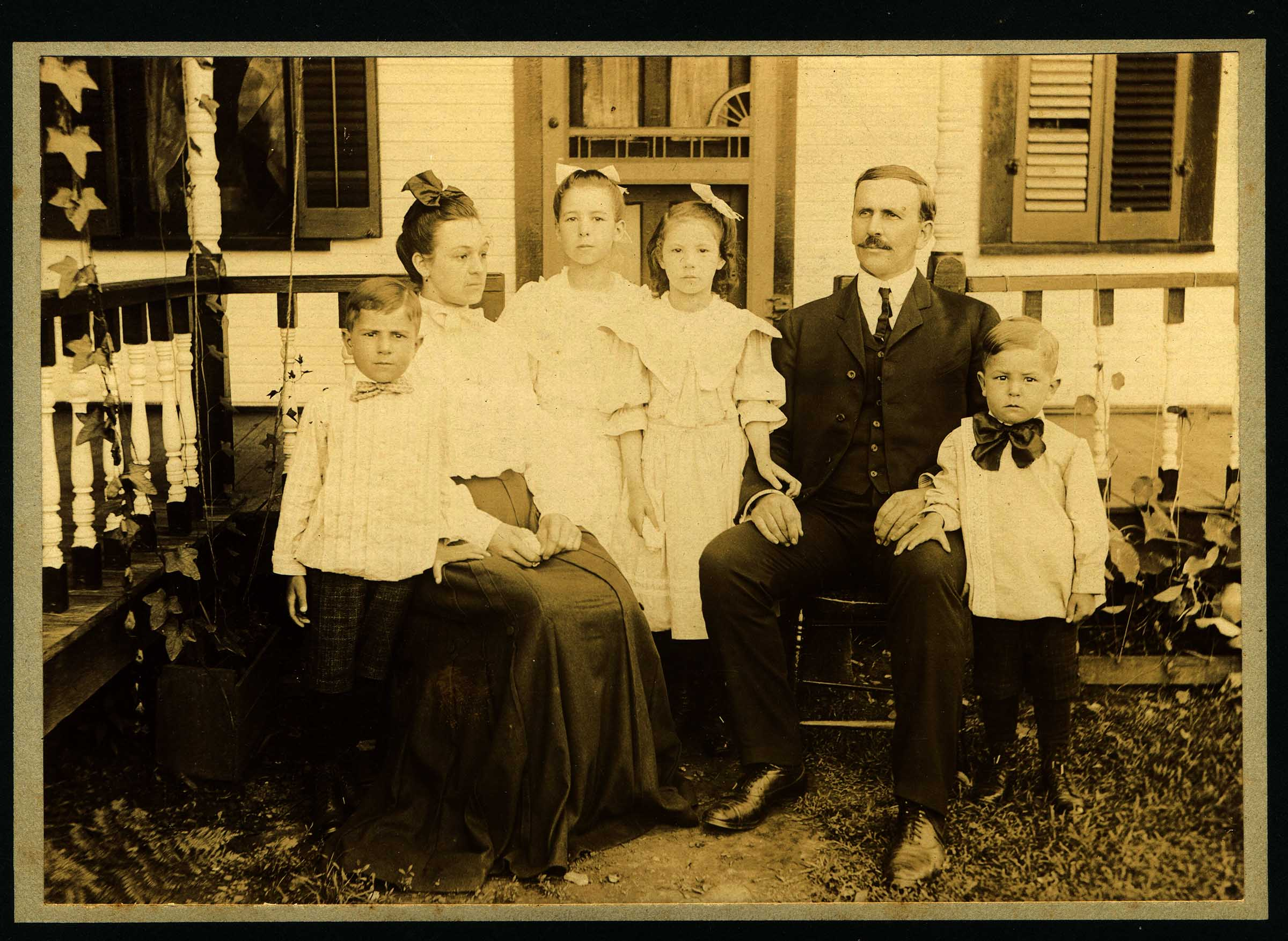 Martin Luther Hauger Family