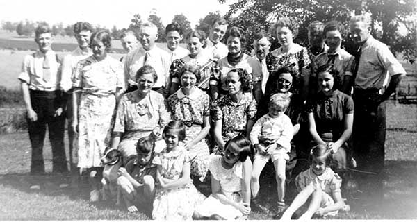 Wilson  Boyer Family reunion
