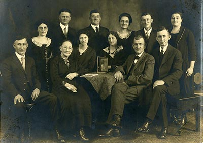 Boyer Family at Christmas 1925